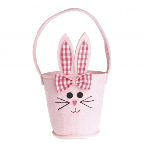 Pink Bunny Basket from Dot Com Gift Shop