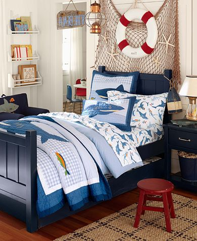Nautical bedrooms for boys pagazzi blog for Boys nautical bedroom ideas